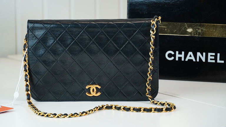 Chanel Vintage 3 Full Flap