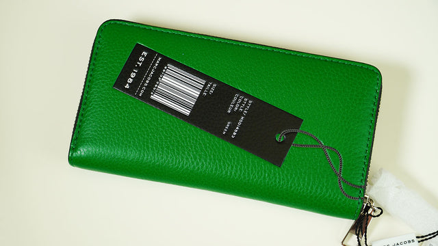 Marc Jacobs Tag Wallet Green