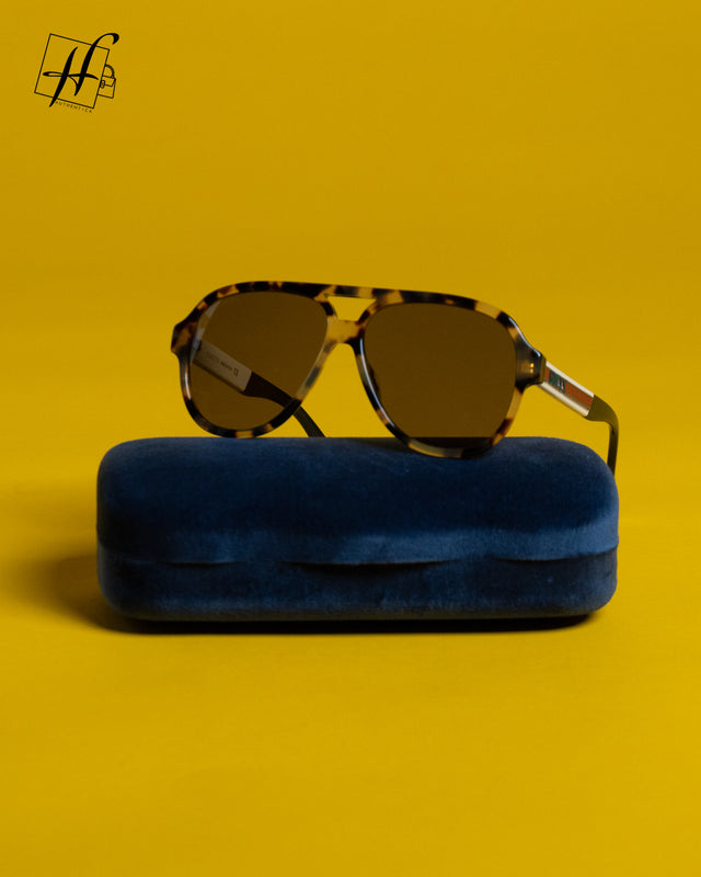 Gucci sunglasses acetate Havana