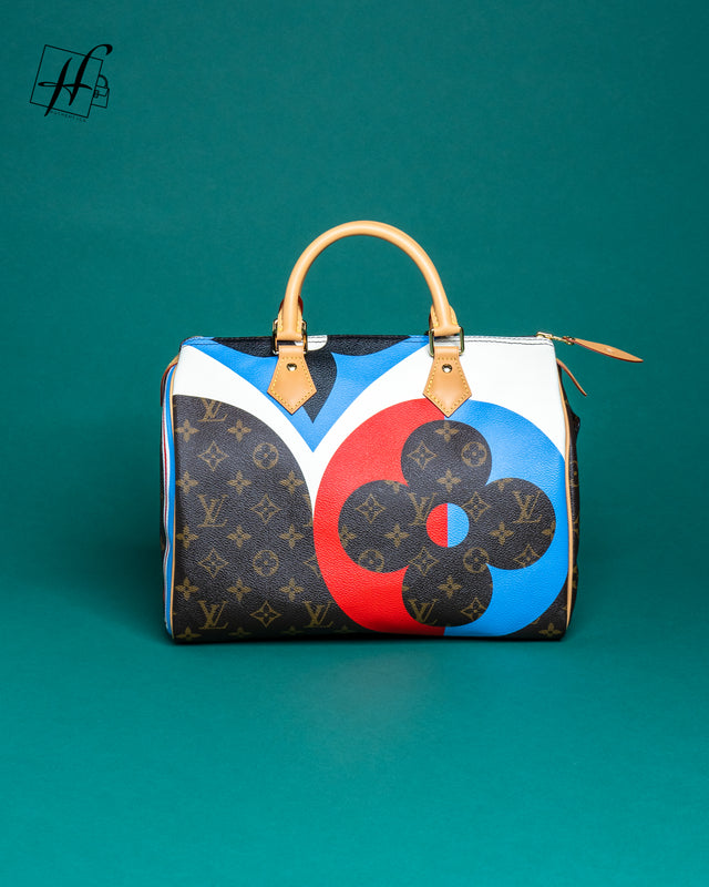 Louis Vuitton Game On Speedy Bandouliere