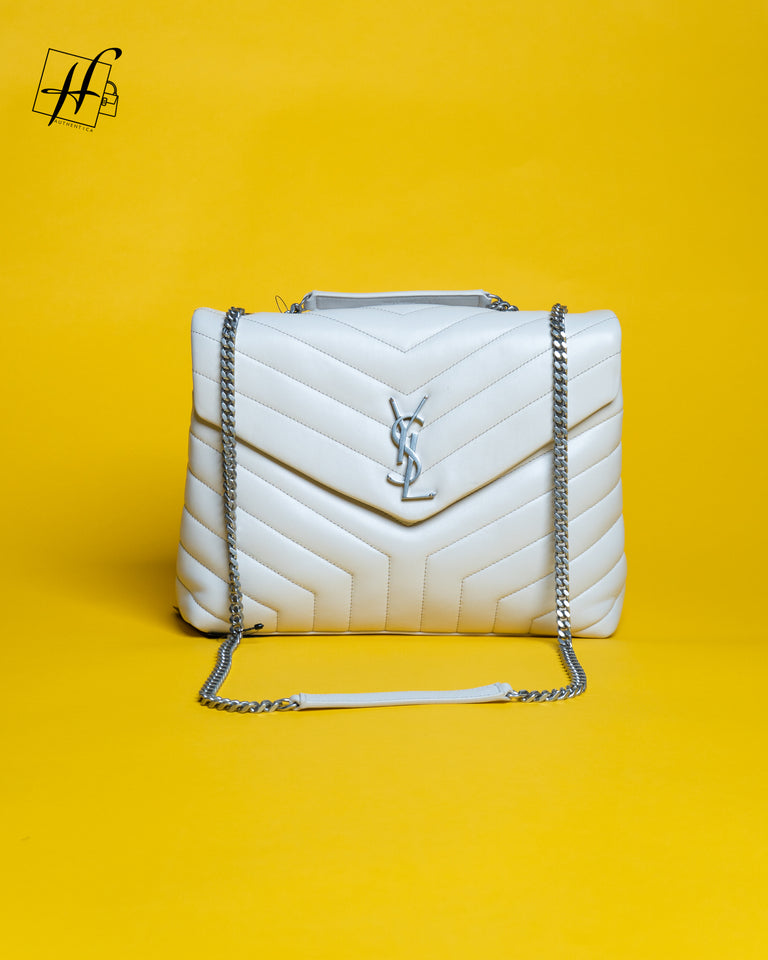 "YSL LOULOU Large BAG IN ""Y""-QUILTED LEATHER"