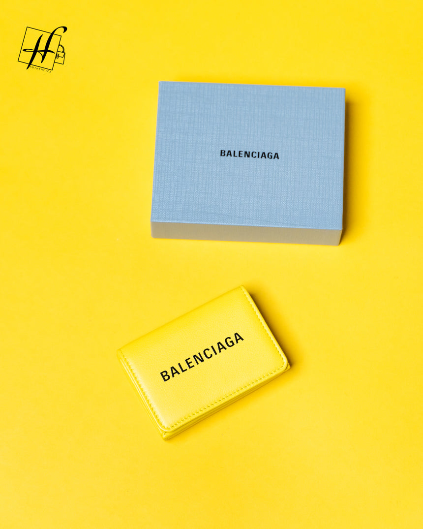 Balenciaga signature wallet calf