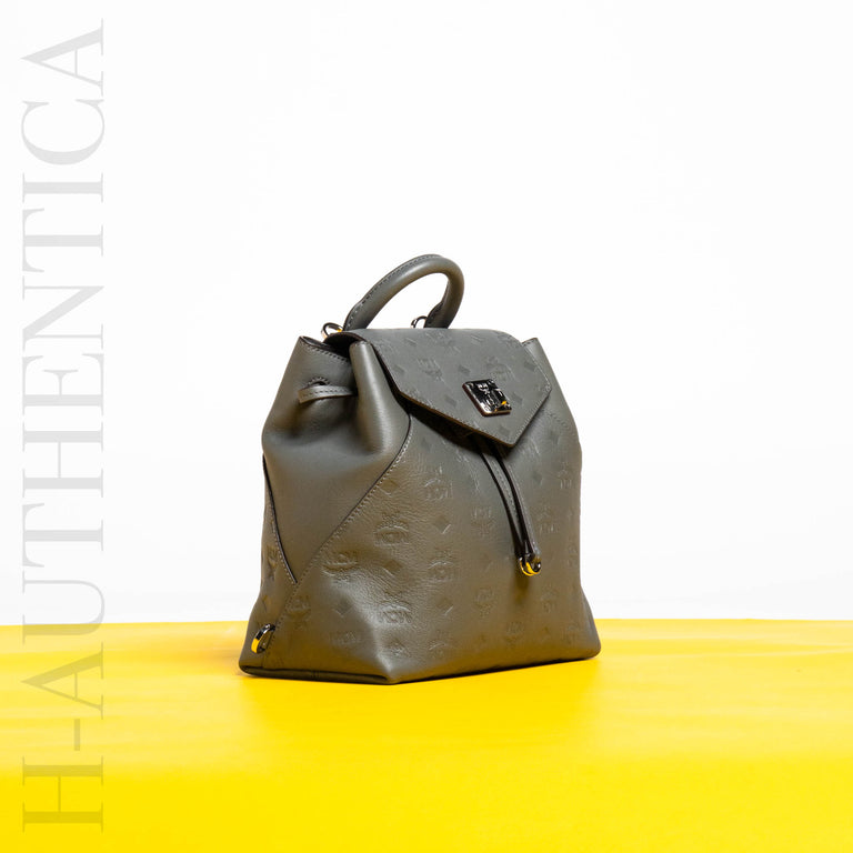MCM Grey Backpack