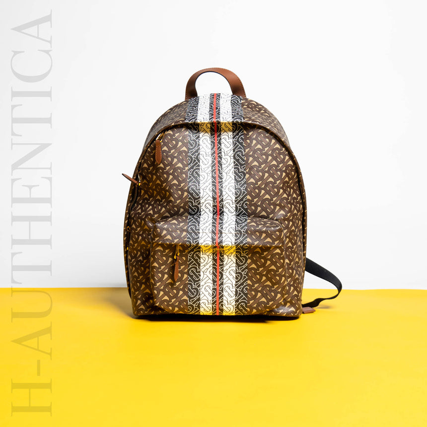 Burberry Stripe Backpack