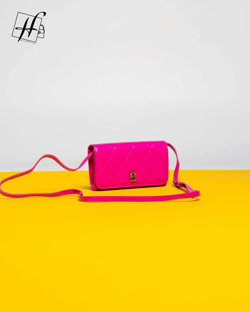 Balenciaga phone holder crossbody