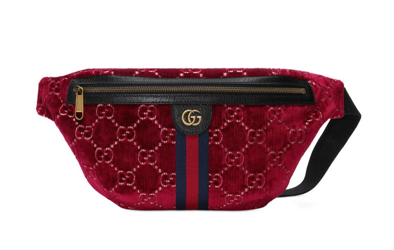 Gucci Velvet Belt bag