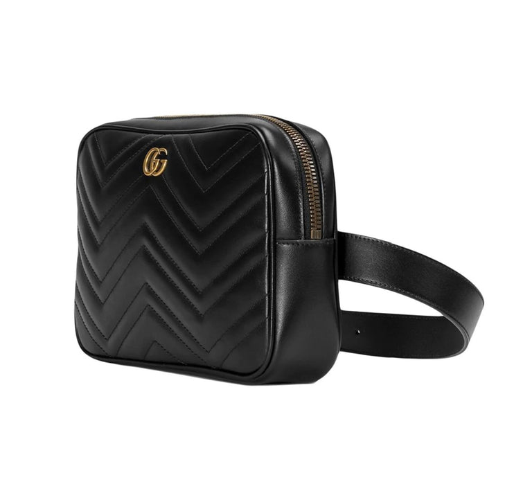 Gucci Marmont Matelasse Belt Bag