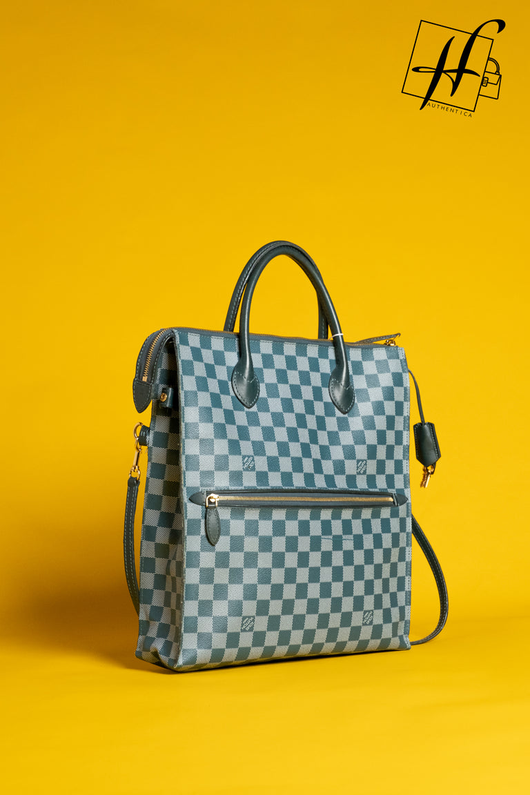 Mobile tote Damier Cyan Louis Vuitton