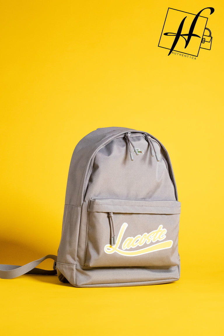 Lacoste Signature backpack