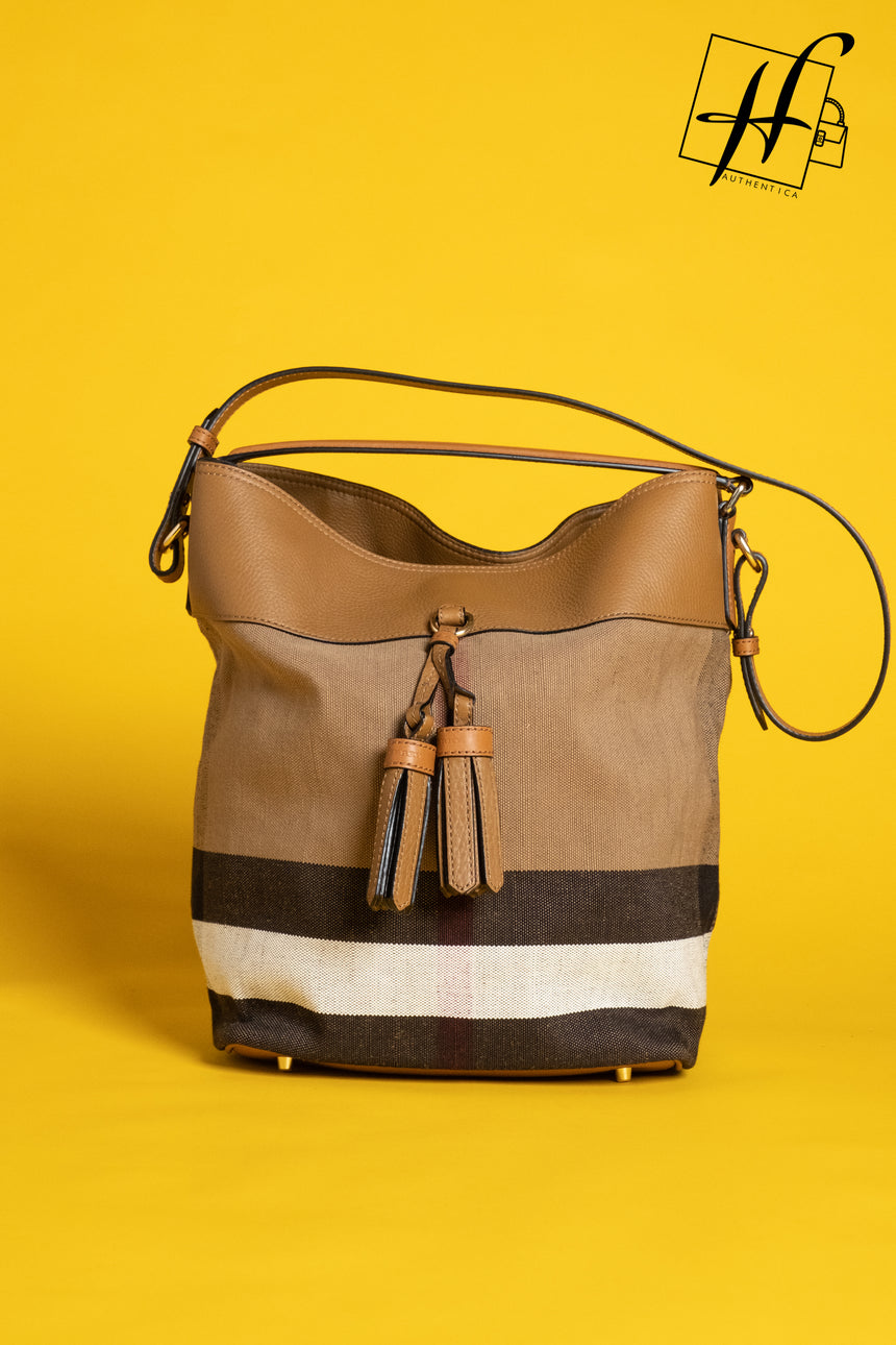 Burberry Ashby Saddle Brown