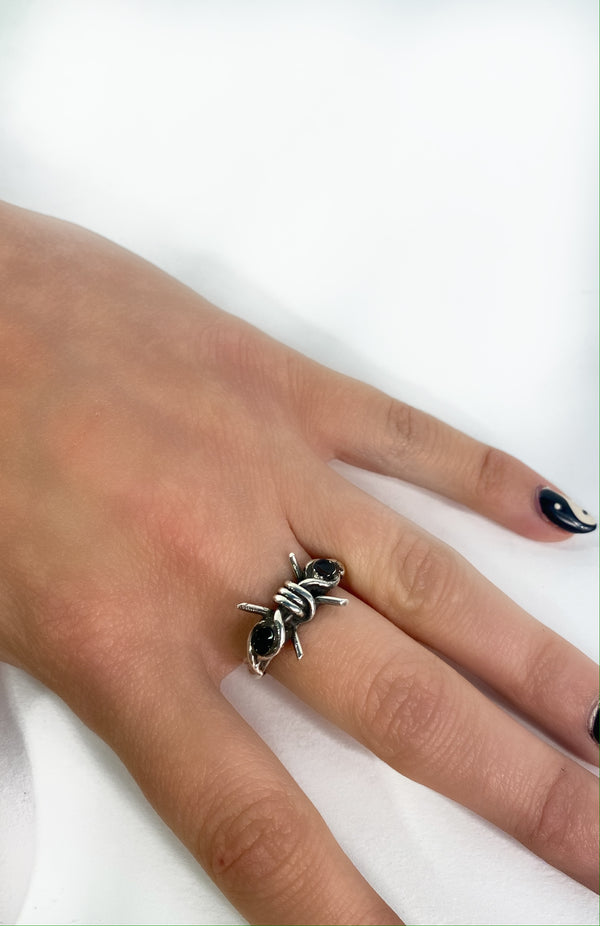 Limited Edition Deadly Onyx Ring