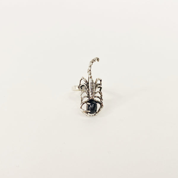 Small Crying Scorpion Ring