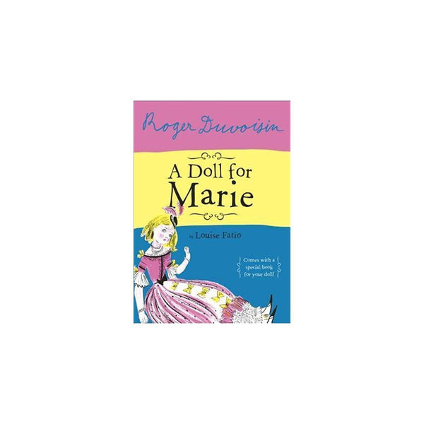 A DOLL FOR MARIE BOOK-monsieur marcel gourmet market