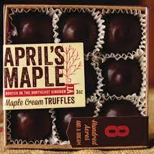 APRIL'S MAPLE CREAM FILLED TRUFFLES 3oz-monsieur marcel gourmet market
