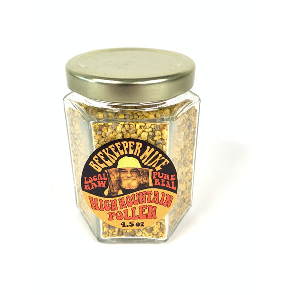BEEKEEPER MIKE HIGH MOUNTAIN POLLEN 4.5oz-monsieur marcel gourmet market