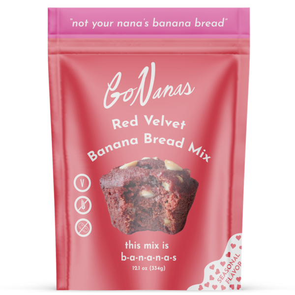 GO NANAS RED VELVE BANANA BREAD MIX 258g-monsieur marcel gourmet market
