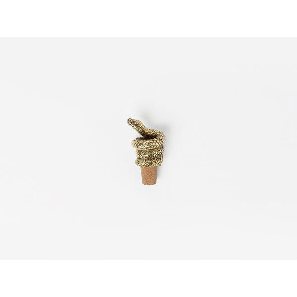 MAMBA BOTTLE STOPPER ANTIQUE GOLD-monsieur marcel gourmet market