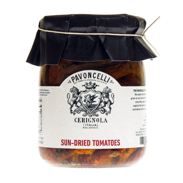 PAVONCELLI SUN DRIED TOMATOES 550g-monsieur marcel gourmet market