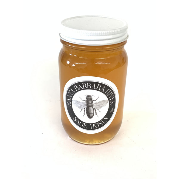 SANTA BARBARA HIVES SAGE HONEY 10oz-monsieur marcel gourmet market