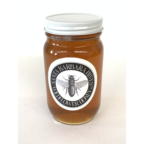 SANTA BARBARA HIVES WILDFLOWER HONEY 12oz-monsieur marcel gourmet market
