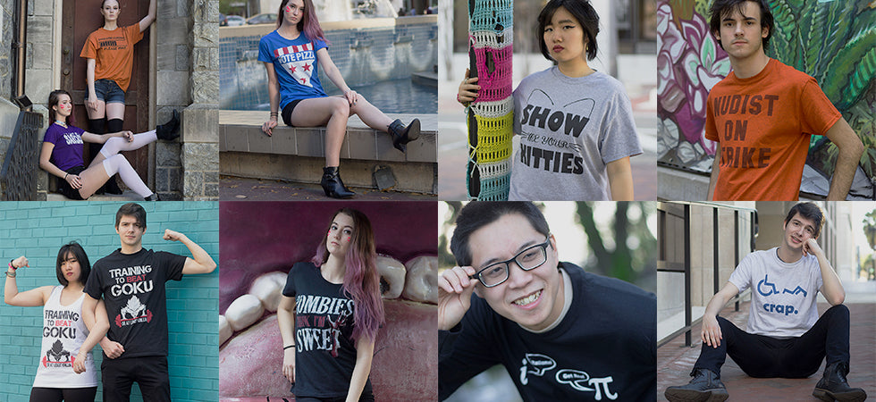 TrendTee offers the latest t-shirts and apparel in pop culture, movies, humor, and more!