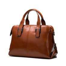 Load image into Gallery viewer, Lux Leather Handbag