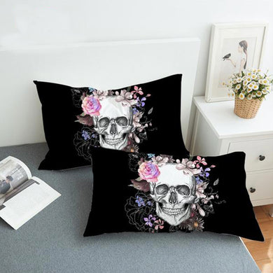 Skull-Flo Pillowcase
