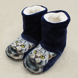 Relaxed Slipper Cat Boots