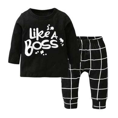 Baby Boss Outfit Set