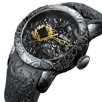 Lux Engraved Man-Watch