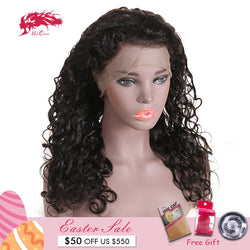 Ali Queen Brazilian Remy Pre Plucked Natural Hair Lace Wigs
