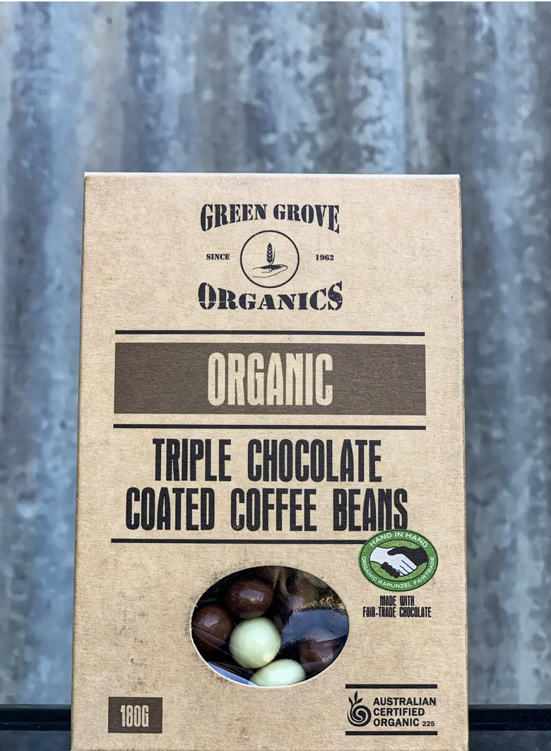 Triple Chocolate Coffee Beans