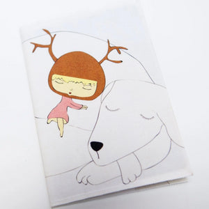 "Passport Cover ""Reindeer Hug"""