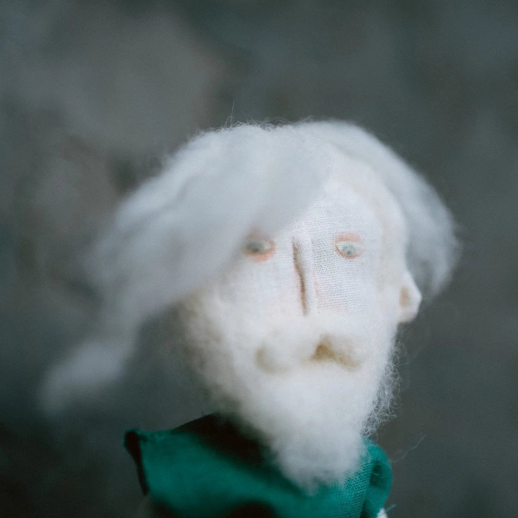 Beard hipster soft toy.