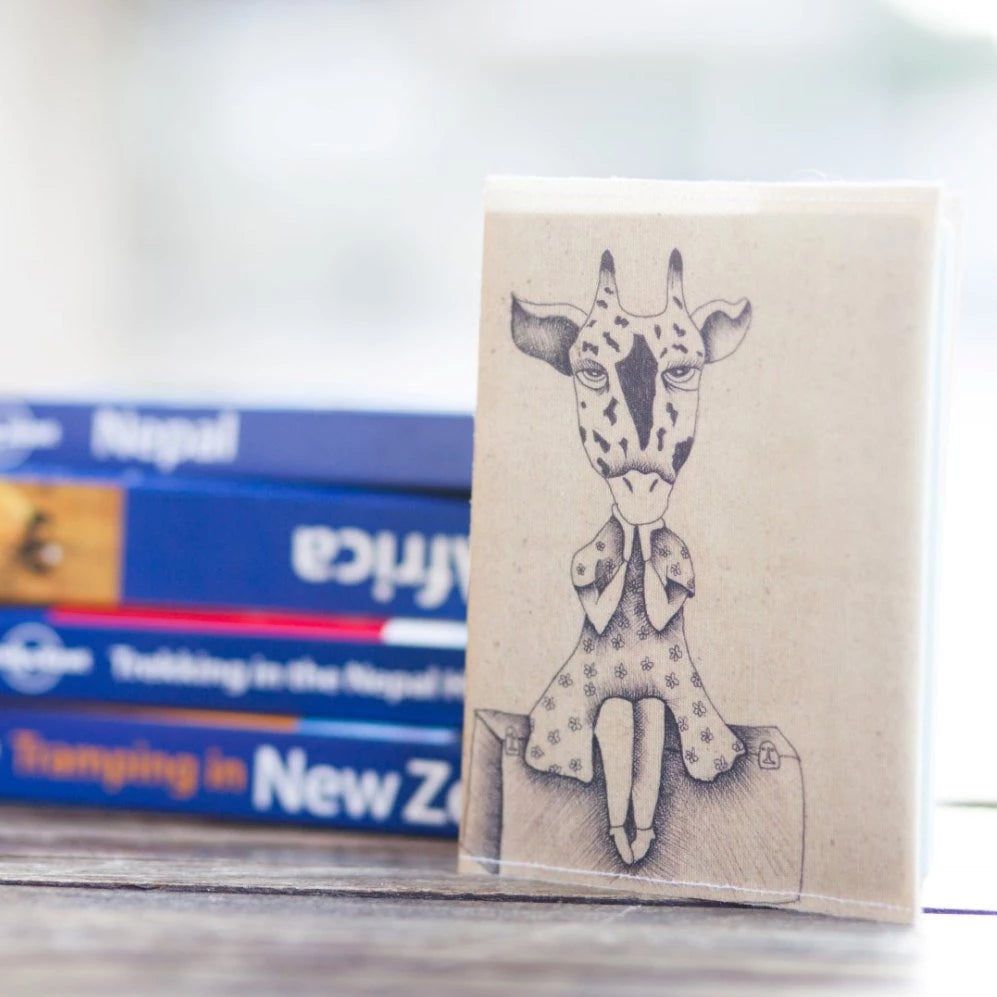 Giraffe Passport Cover