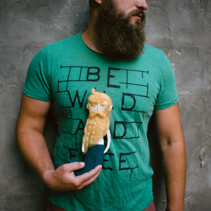 Blonde bearded mermale.
