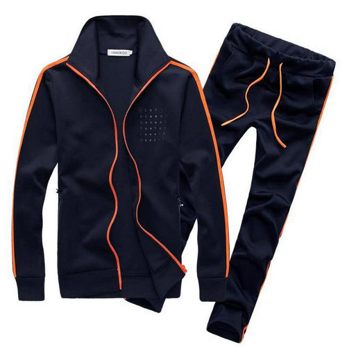 Sportswear Suit Men's Long Sleeve Brand Fitness And Leisure