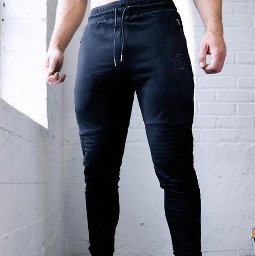 Autumn Jogger Pants New Men Cotton Patchwork Sweatpants