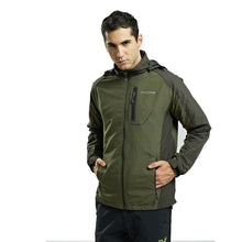 Load image into Gallery viewer, Winter Casual Plain Waterproof Zipper Outdoor Jacket