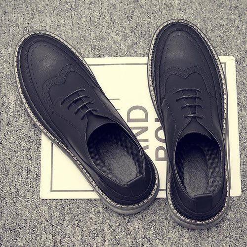2019 New Mens Brogue Shoes