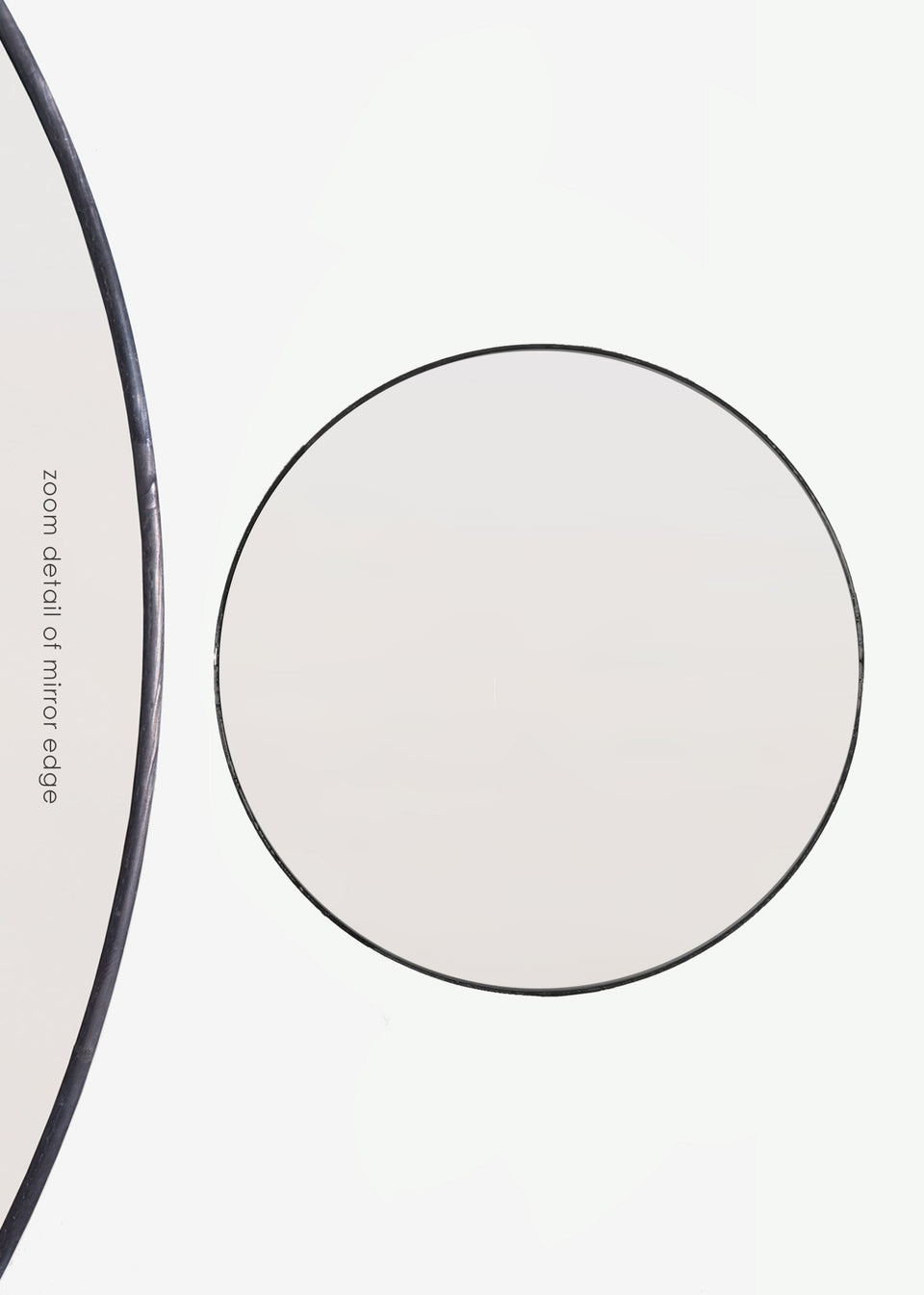 Giant Classic Circular Mirrors