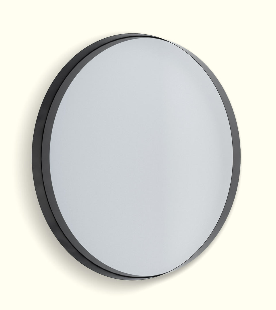 Deep Frame Circular Mirrors - LED Backlit