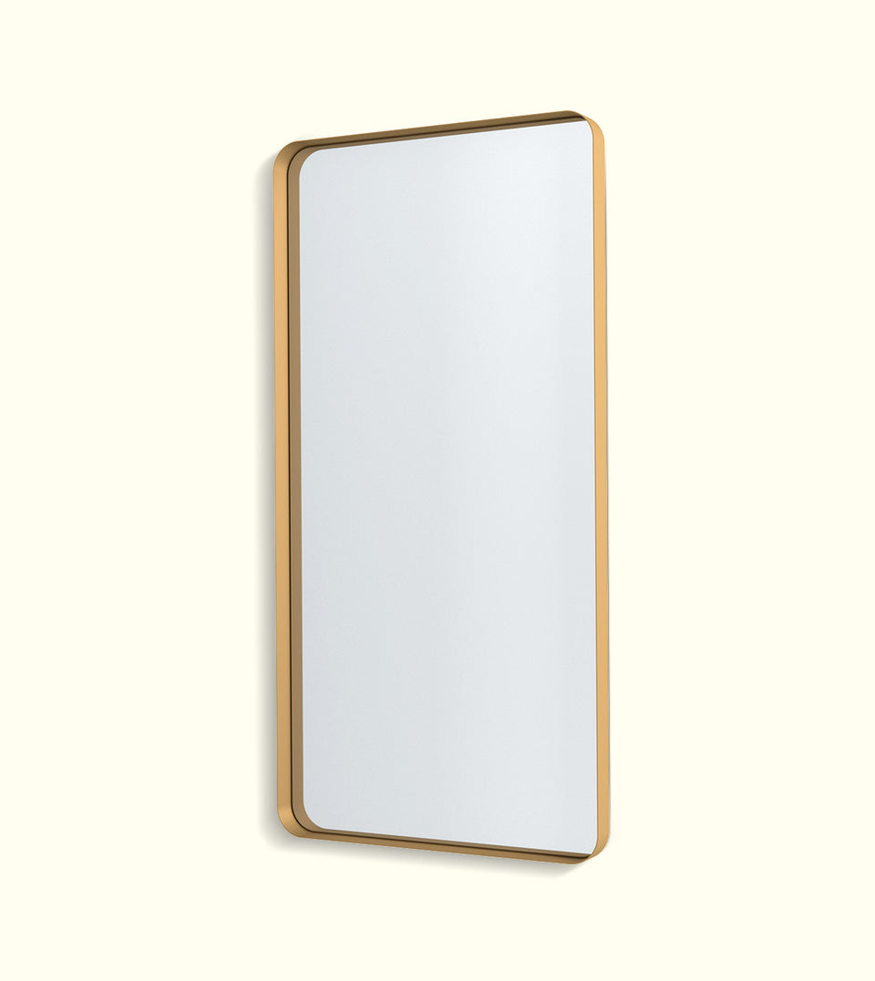 Deep Frame Soft Edge Mirrors - LED Backlit