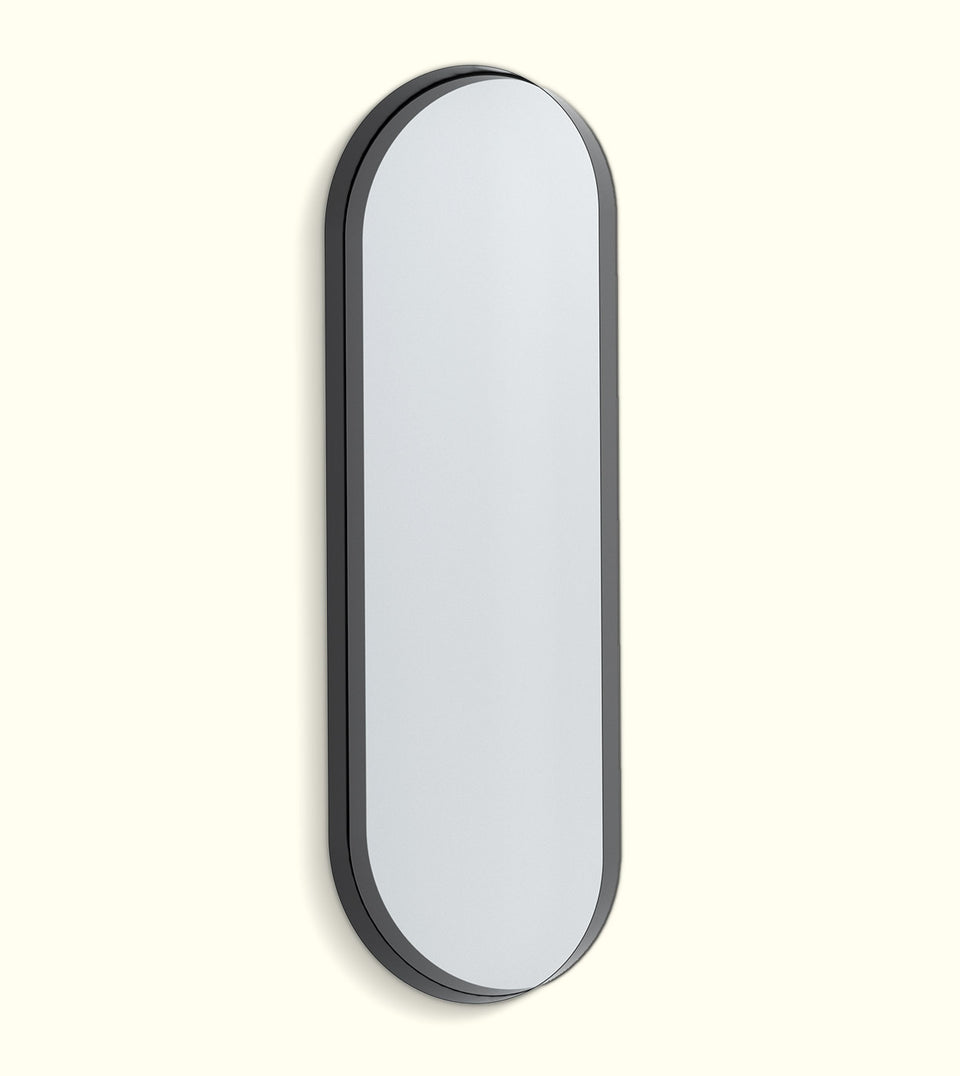 Deep Frame Pill Mirrors - LED Backlit