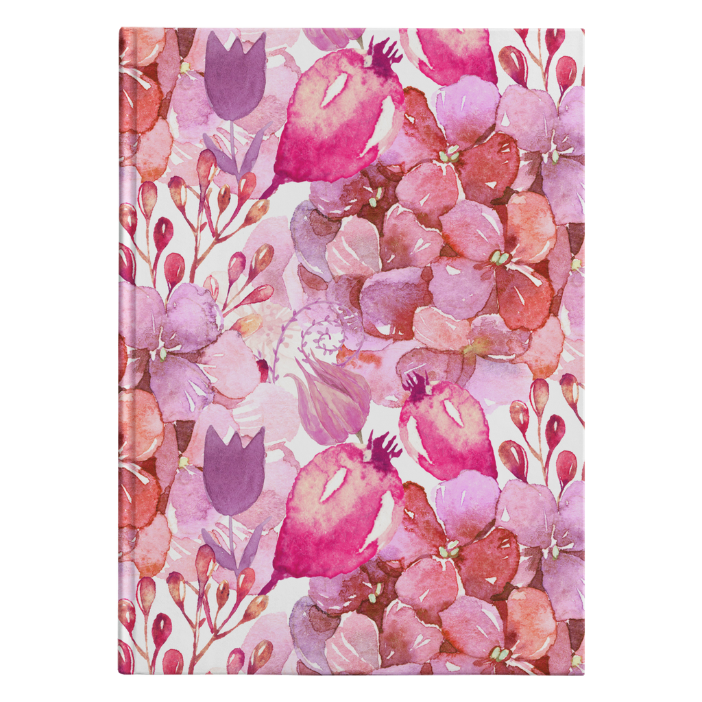 Wild Berry Floral Journal