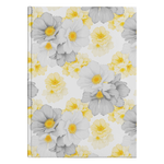 Yellow & Gray Floral Journal