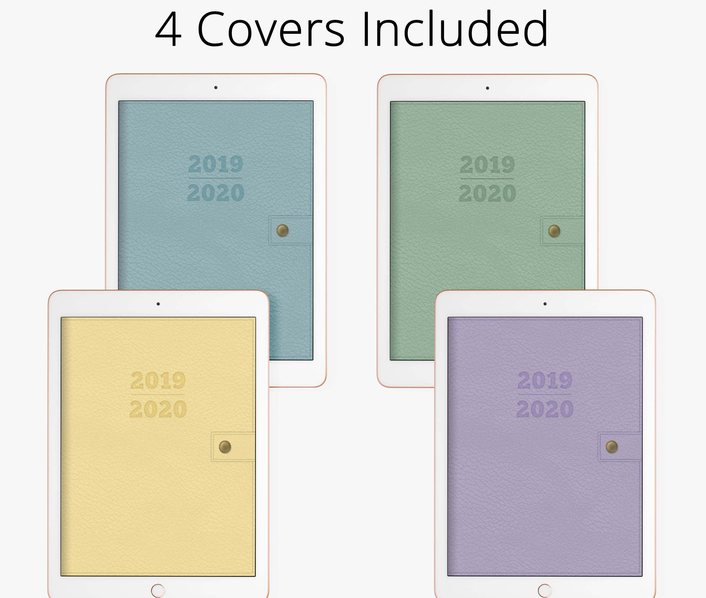 planner covers in digital planner for goodnotes, notability, xodo, ipad planner & android, digital notebook cover journal