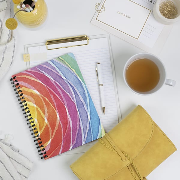 Radient Rainbow Notebook