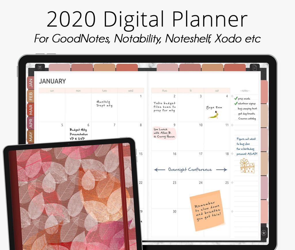 Desert Southwest 2020 Dated Digital Planner