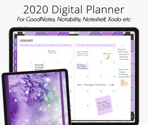Mysteria 2020 Dated Digital Planner